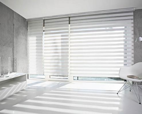 Rebstock Sonnenschutzanlagen Aichhalden MHZ Doppel-Rollos